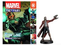 Marvel Fact Files - Cosmic Special: Star Lord - Statue & Magazine